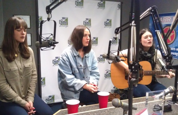 Live in studio: The Staves