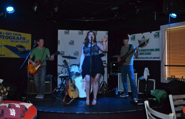 Corner Lounge at Boylan Heights with Erin & The Wildfire 7/11/13