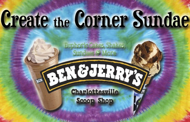 Create the Corner Sundae with Ben and Jerry's